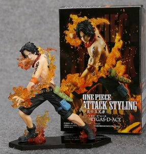 3pcs/set Luffy + Sabo + Ace Anime One Piece
