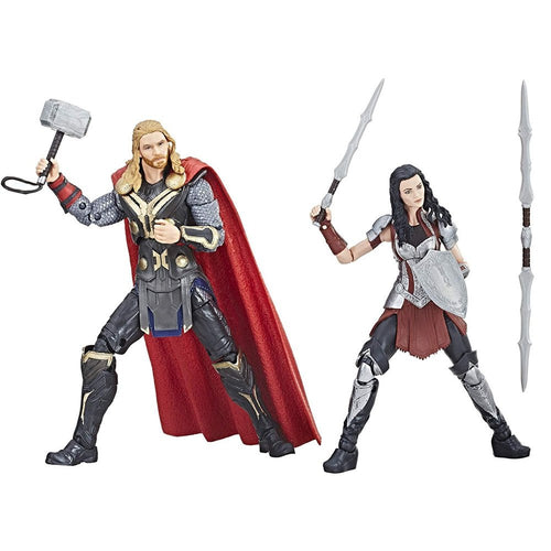 16-17 cm Thor e Sif - Marvel Legends - Hasbro