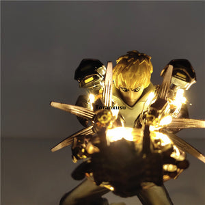 16cm One Punch Man  Genos Cannons Led.