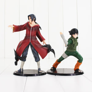 2 pcs Naruto Uchiha Itachi Rock lee.
