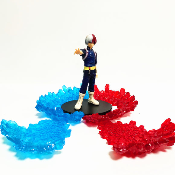 16 cm My Hero Academia Todoroki Shoto Red Blue