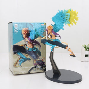 16-20cm One piece Luffy Donquixote Doflamingo Jinbe Marco Smoker.