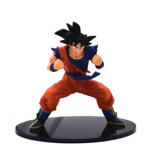 11-23CM Dragon Ball Z Super Goku Son Gohan Broly Vegeta Cell Frieza Buu Broli Trunks Burdock