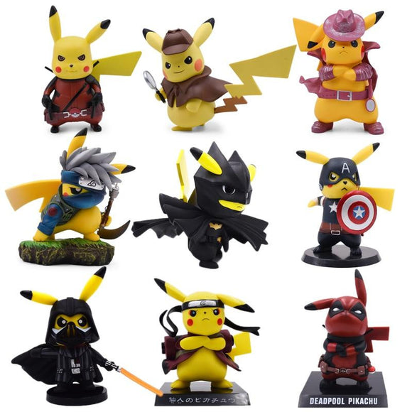 Detetive Pikachu Cosplay Deadpool Batman Darth Vader Naruto Kakashi
