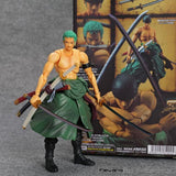 18 cm One Piece Luffy Ace Zoro Sabo Law Nami Dracule Mihawk com caixa