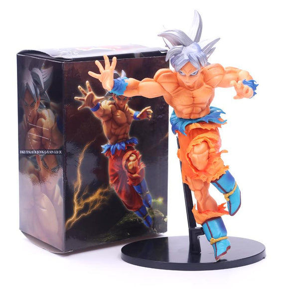 20 cm Dragon Ball Son Goko instinto primitivo