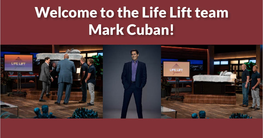 Life Lift Systems Welcomes Shark Tank's Mark Cuban