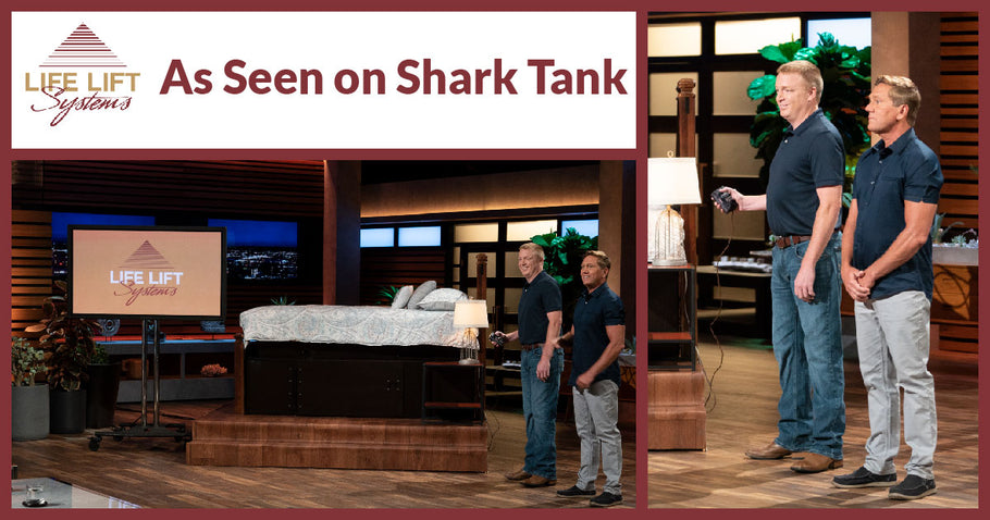 Life Lift Systems Pitch of their Vortex Vaults Tornado Shelter Bed on Shark Tank