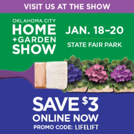 Life Lifts Systems to be on display at the Oklahoma Home and Garden Show