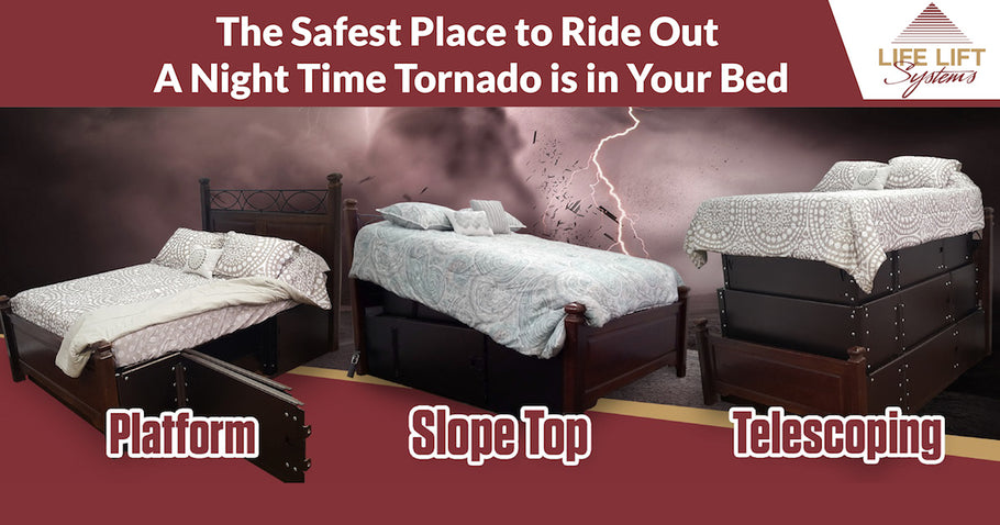 The Safest Place to Ride Out a Night Time Tornado is in Your Bed