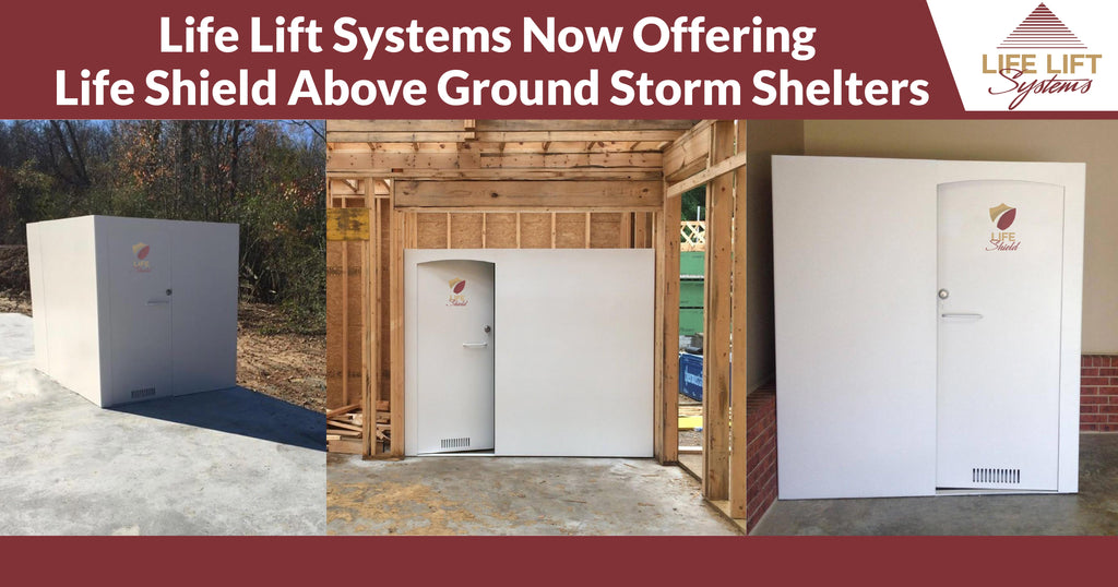 Life Lift Systems Now Offering Life Shield Above Ground Storm Shelters