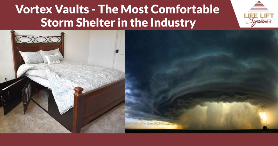Vortex Vaults - The Most Comfortable Storm Shelter in the Industry