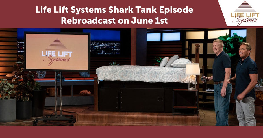 Life Lift Systems Shark Tank Episode Rebroadcast on June 1st
