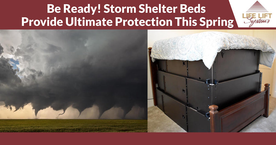 Be Ready! Storm Shelter Beds Provide Ultimate Protection This Spring