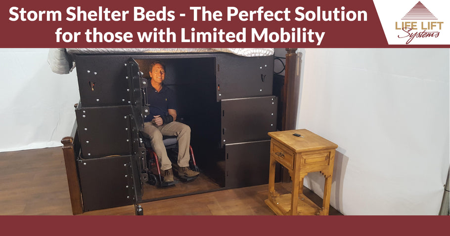 Storm Shelter Beds - The Perfect Solution for those with Limited Mobility