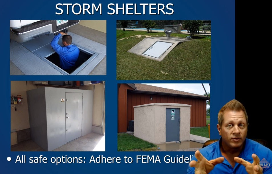 Aaron Tuttle Meteorologist Hightlights Storm Shelters and the Vortex Vaults Storm Shelter Beds
