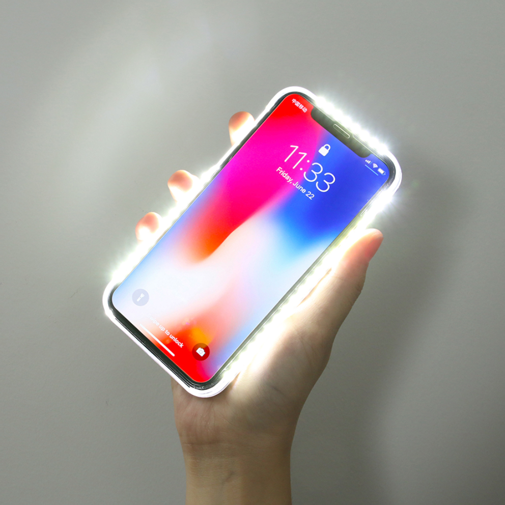 LED Selfie Case