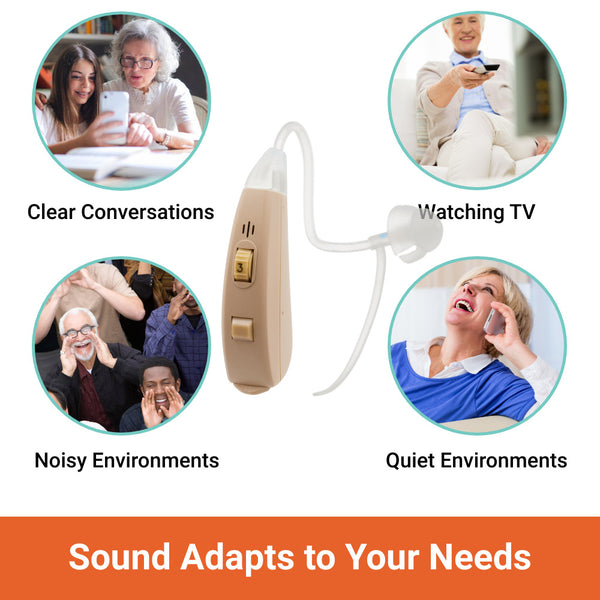 easy to use hearing aids