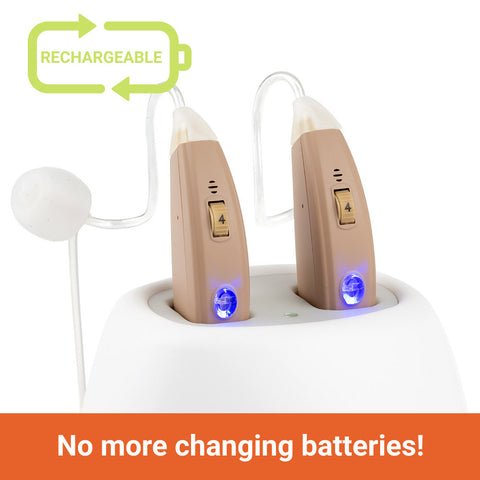 MX rechargeable hearing aids