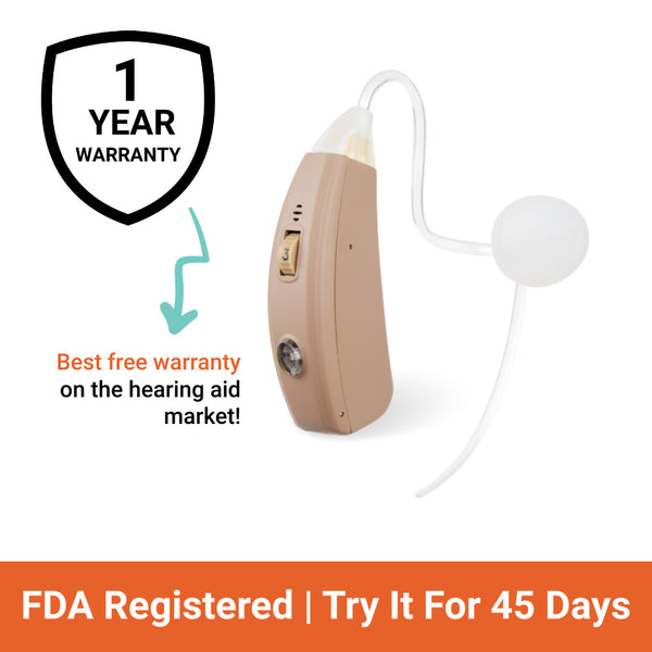 rechargeable hearing aid sale