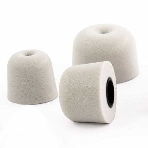 Memory Foam Ear Domes for Neosonic Qt Hearing Amplifier