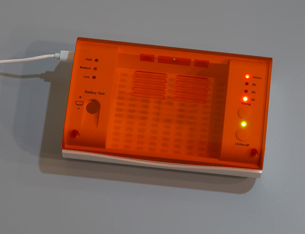 Hearing Aid Dryer with LED UV Cleaning