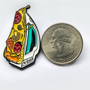 Wonderful Horrible Enamel Pin