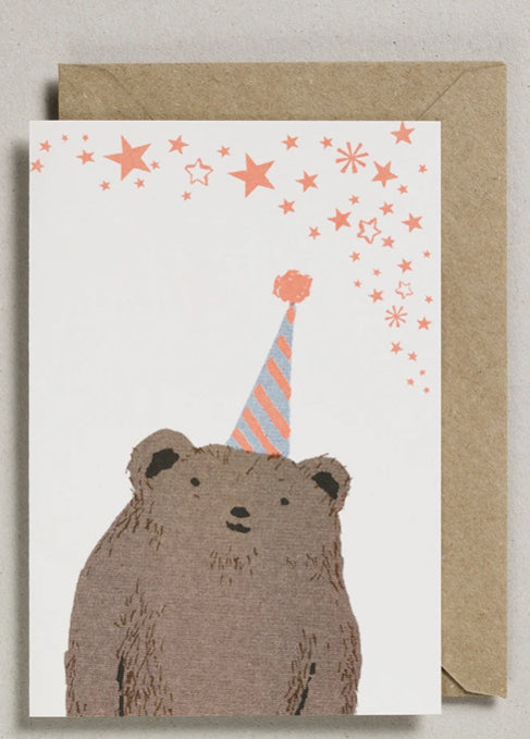 Petra Boase Confetti Pet Cards Bear