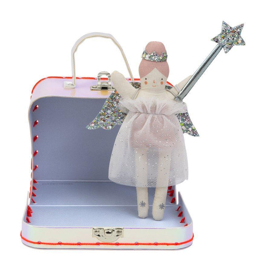 Meri Meri Suitcase With Mini Fairy Doll