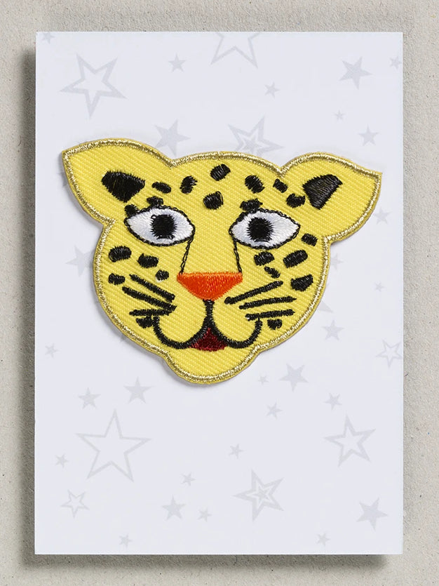 Petra Boase Iron On Patch Leopard