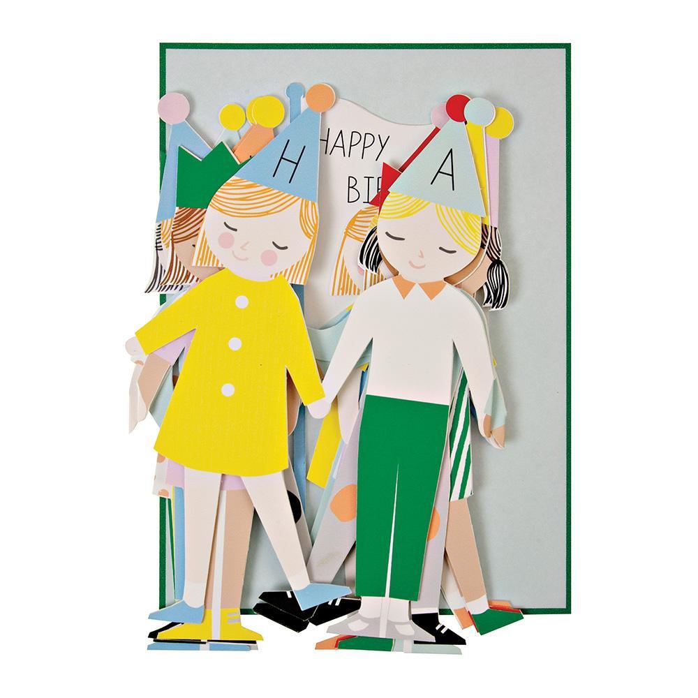 Meri Meri Children Concertina Birthday Card