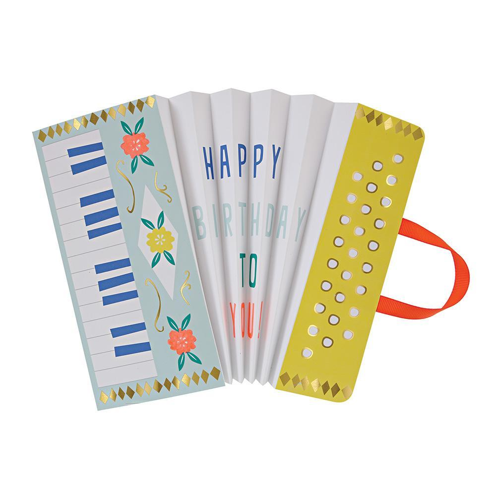 Meri Meri Accordion Birthday Card