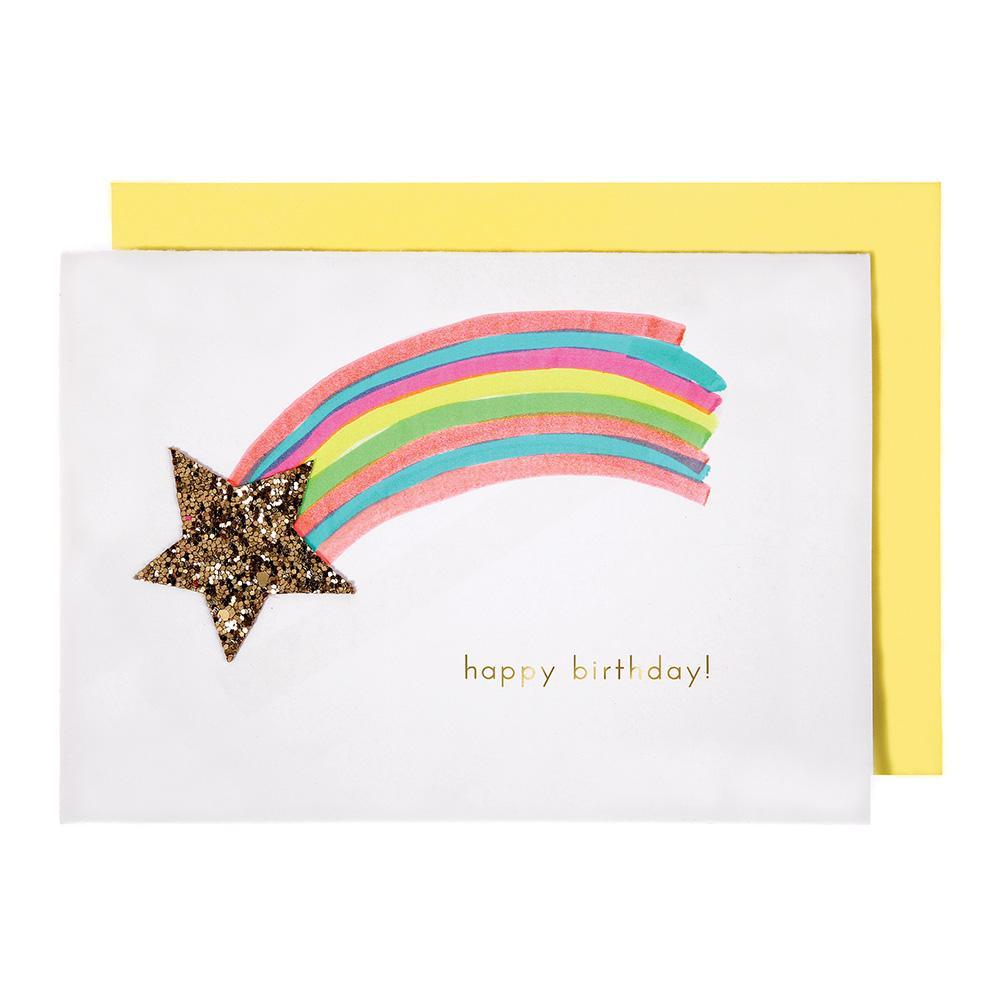 Meri Meri Shooting Star Birthday Card