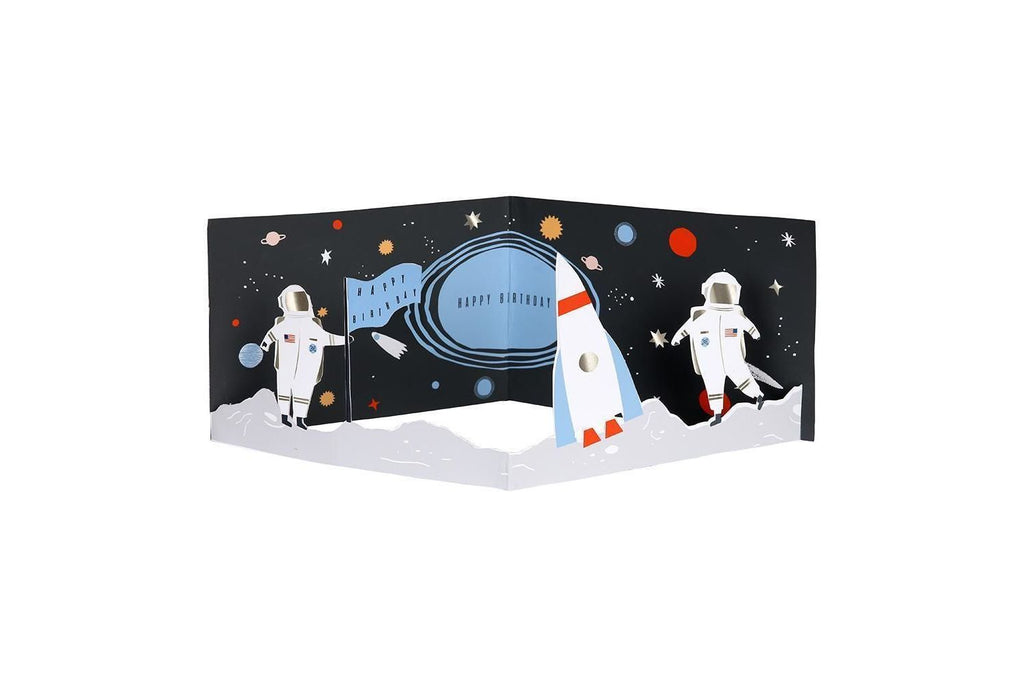 Meri Meri Space Concertina Card