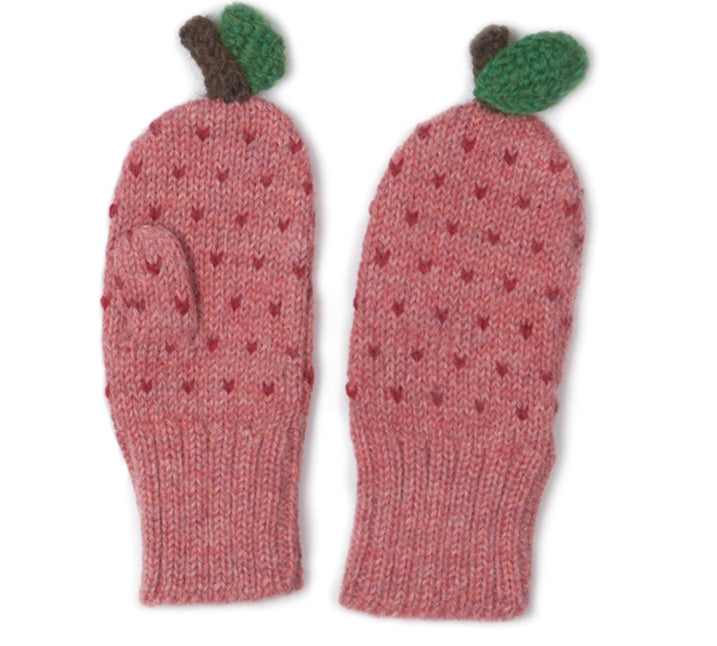 Oeuf Apple Mittens