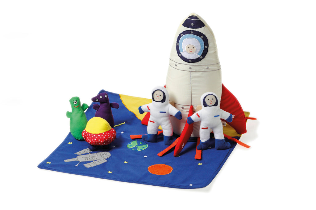 Oskar & Ellen Rocket Ship Play Set