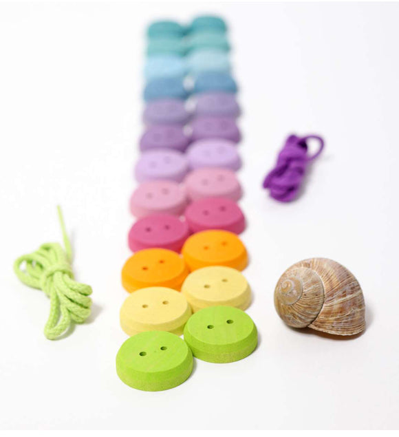 Grimms Wooden Buttons