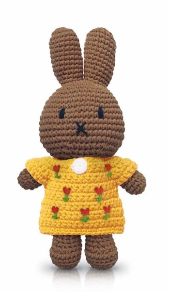 Miffy Crochet Melanie In A Yellow Tulip Dress