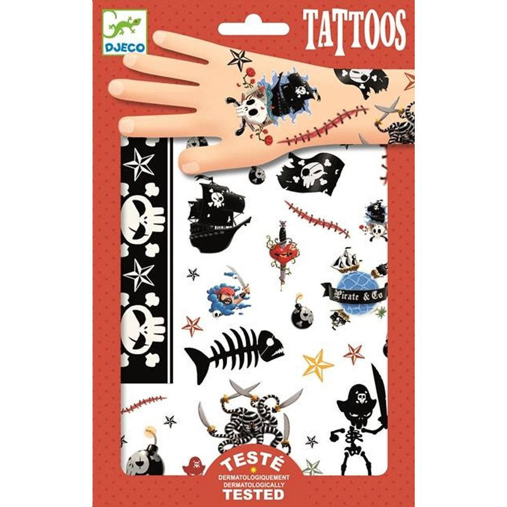 Djeco Pirates Tattoos