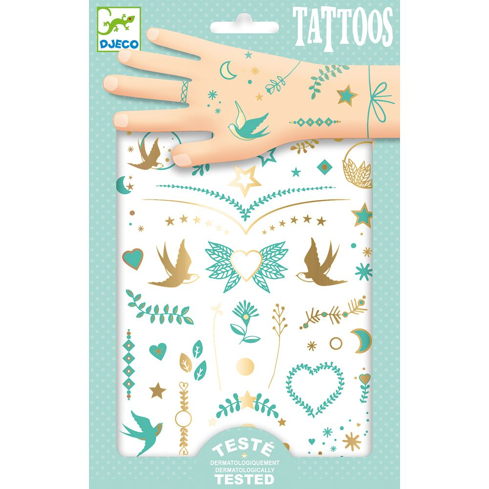 Djeco Lily's Jewels Tattoos
