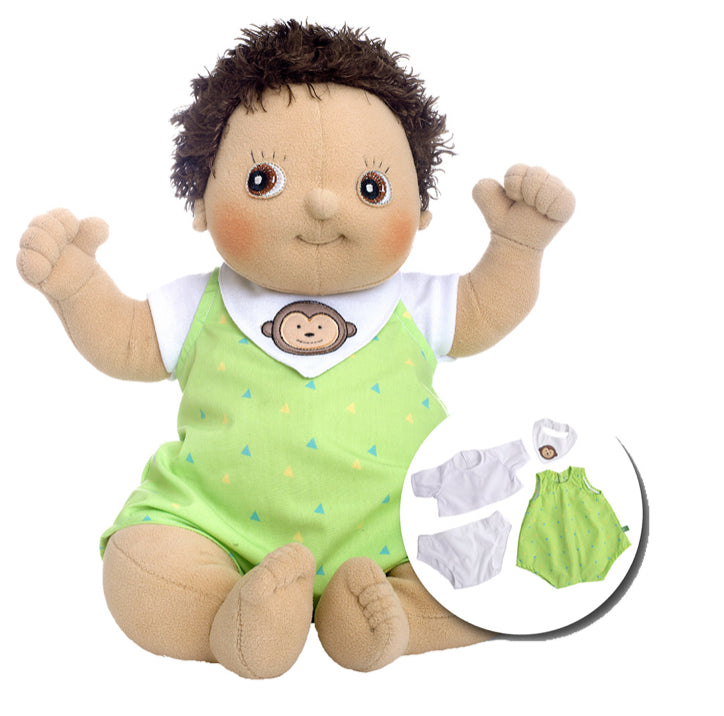 Rubens Baby Doll Max 4 Pcs Outfit With Box