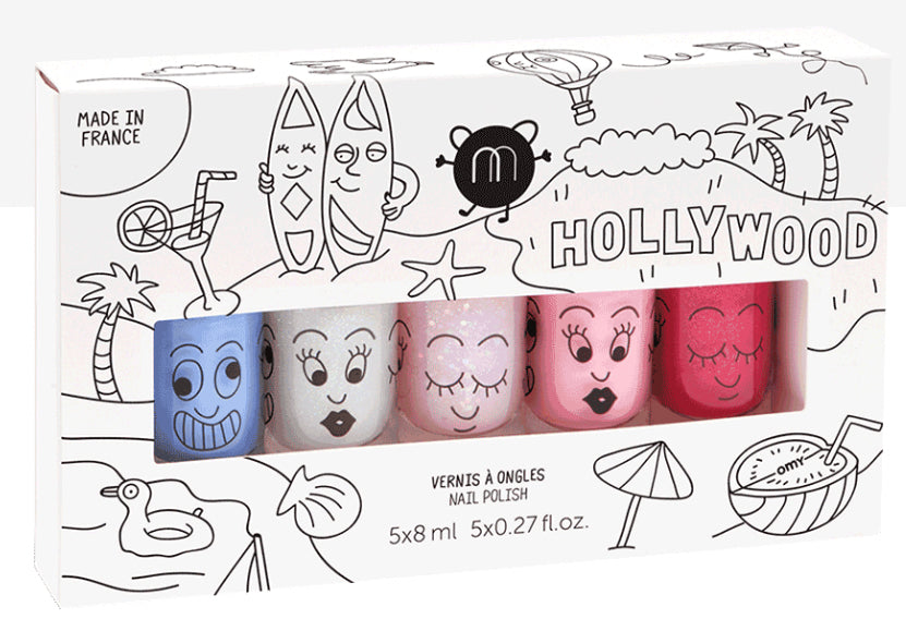 Nailmatic Kids Nail Polish - Hollywood 5