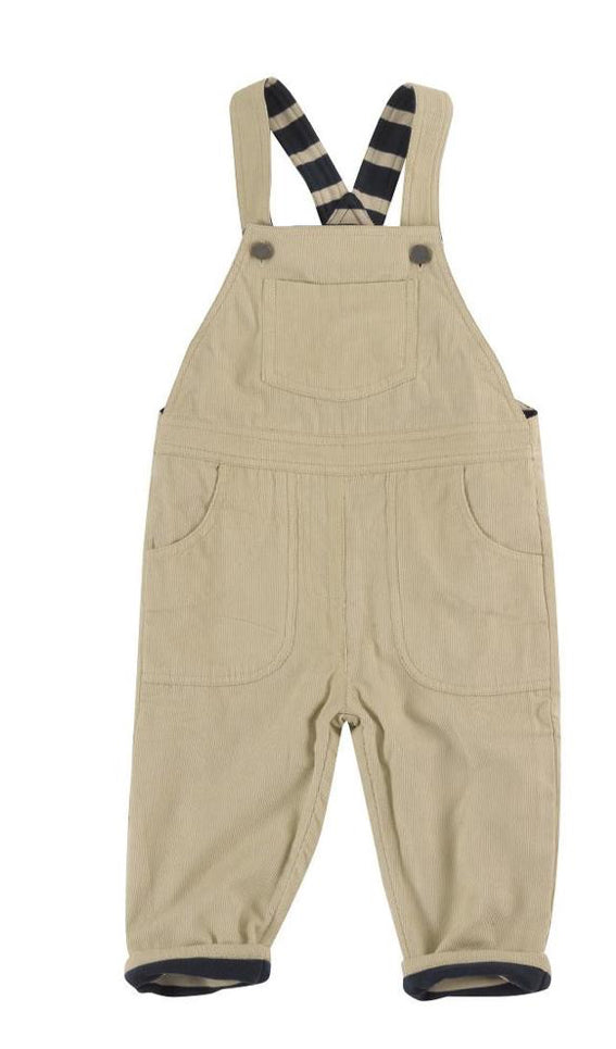 Pigeon Organics Lined Cord Dungarees