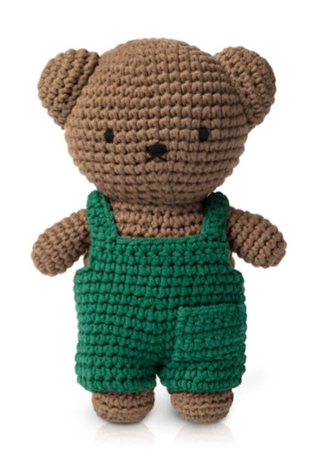 Miffy Crochet Boris In His Green Overall
