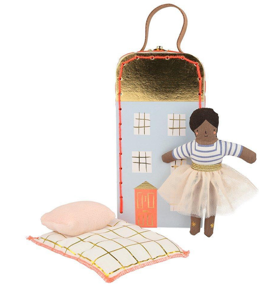 Meri Meri Suitcase With Mini Ruby Doll