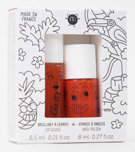 Nailmatic Kids Lip & Nail Duo - Tropical