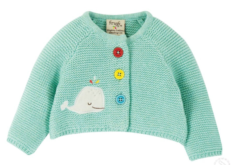 Frugi Cute As A Button Cardigan