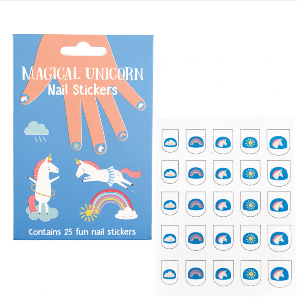Rex London Magical Unicorn Nail Stickers