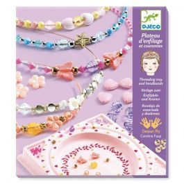 Djeco Headbands and Threading Tray- Precious