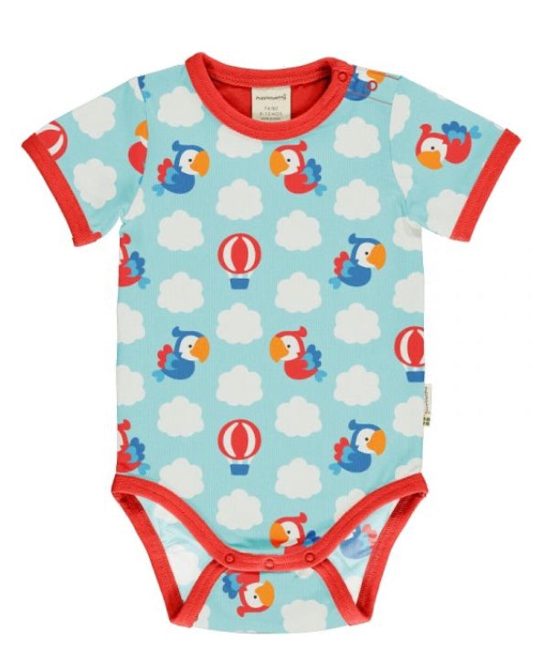 Maxomorra Parrot Safari Short Sleeve Body